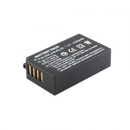 Nikon EN-EL20  akkumulátor 1020mAh utángyártott