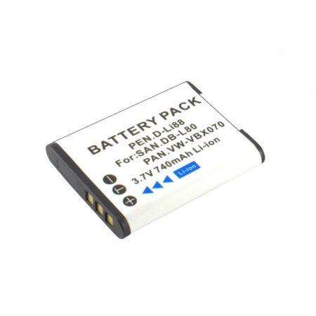 Sanyo DB-L80 akkumulátor