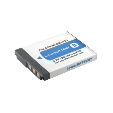 Sony NP-BD1 akkumulátor 1200mAh, utángyártott