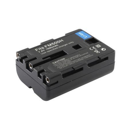 Sony NP-FM500H akkumulátor 1500mAh, utángyártott