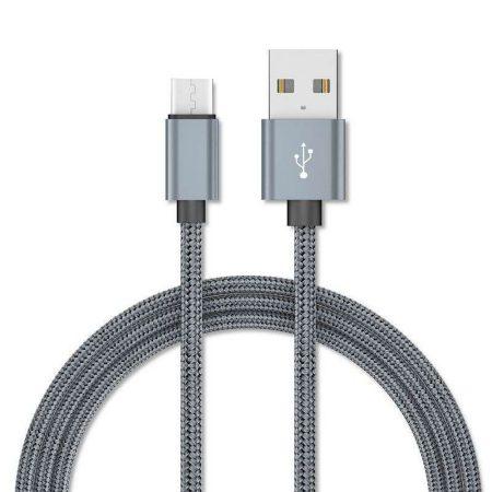 Enkay QC3.0 MicroUSB kábel 1.0m, szürke