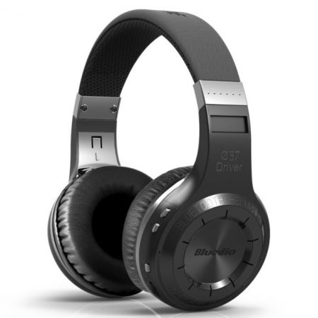Bluedio Turbine Hurricane Bluetooth 5.0 fejhallgató, fekete