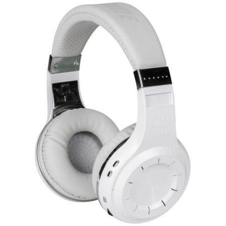 Bluedio Turbine Hurricane Bluetooth 5.0 fejhallgató, fehér