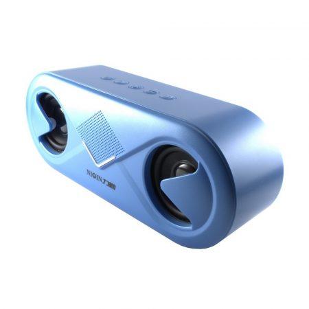 Niqin S6 Bluetooth 5.0 sztereó hangszóró, kék