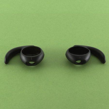 Airpods szilikon fülkampó, fekete, 1 pár/cs.