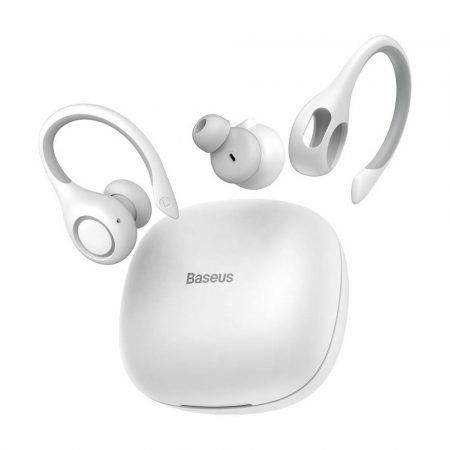 Baseus W17 Encok TWS Bluetooth 5.0 fülhallgató-headset, fehér