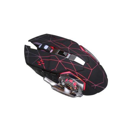 T-Wolf Q13 Dual Mode Bluetooth és 2.4GHz vezeték nélküli egér, fekete
