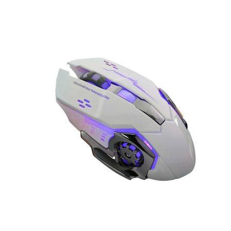 T-Wolf Q13 Dual Mode Bluetooth és 2.4GHz vezeték nélküli egér, fehér