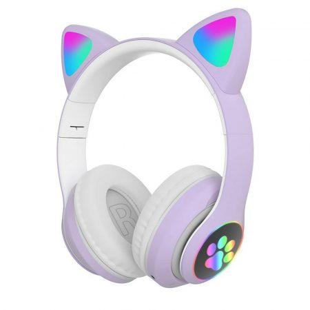 Macskafüles fejhallgató STN-28, lila
