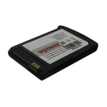 LG KU800 akkumulátor 950mAh utángyártott