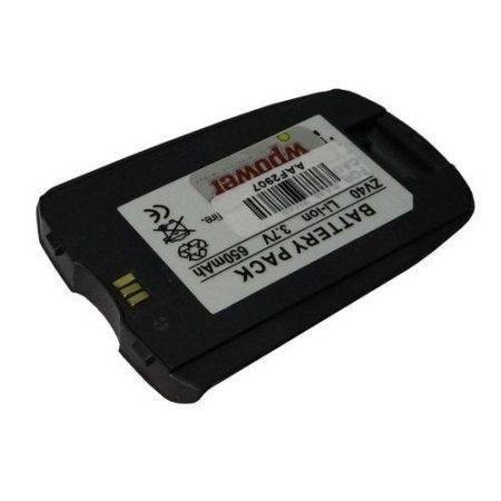Samsung SGH-ZV40 akkumulátor 650mAh utángyártott
