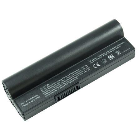 Asus A22-P701 laptop akku 6600mAh, utángyártott, fekete