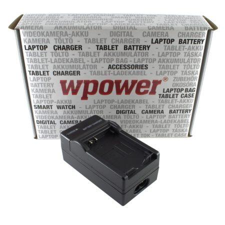 Canon LP-E12 akkumulátor töltő, utángyártott