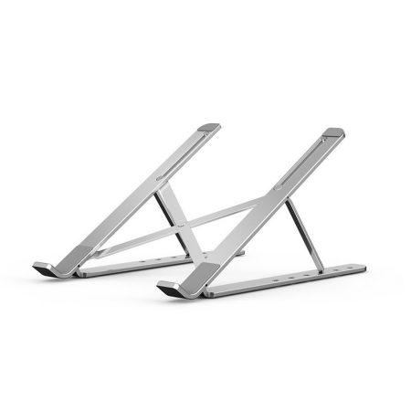 Hordozható, alumínium laptop állvány