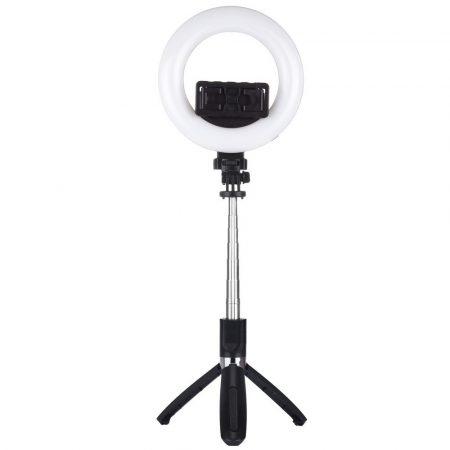 Puluz PU531B szelfi lámpa, tripod és szelfi bot, fekete