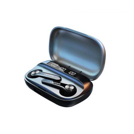 Lenovo QT81 TWS BT5.0 fülhallgató, fekete