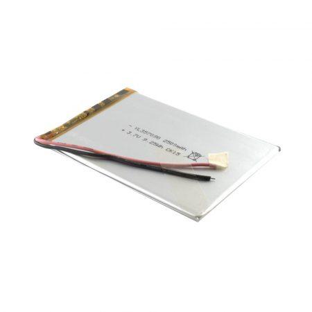 Univerzális 7'' Tablet PC akku 2500mAh, 2 vezetékes