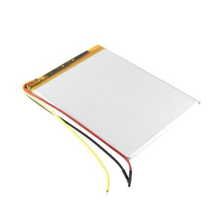 Univerzális 7'' Tablet PC akku 2400mAh, 3 vezetékes