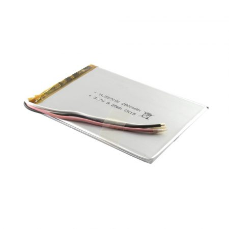 Univerzális 7'' Tablet PC akku 2500mAh, 3 vezetékes