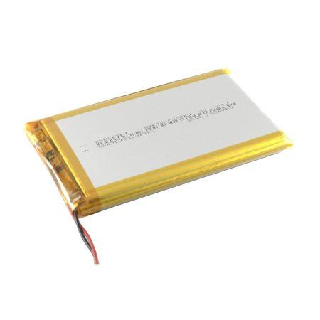 Univerzális Li-Poly akkumulátor 90x60x9mm, 6000mAh, 3.7V