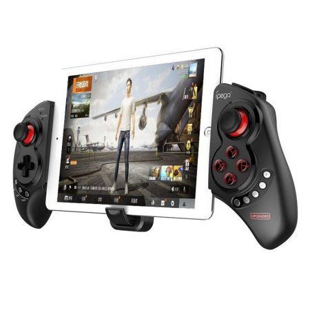 "Ipega Bluetooth Gamepad 5-10"" táblagépekhez, telefonokhoz, fekete"