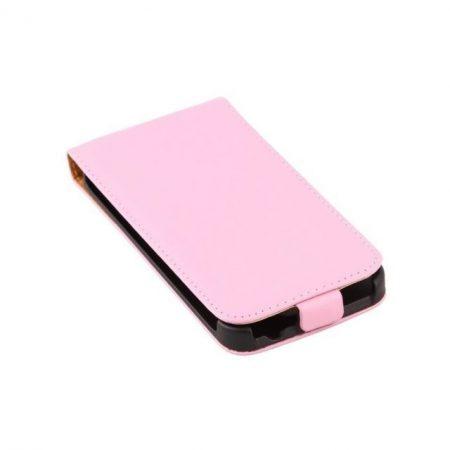 Samsung Galaxy S5 valódi bőr telefontok, pink (3468)