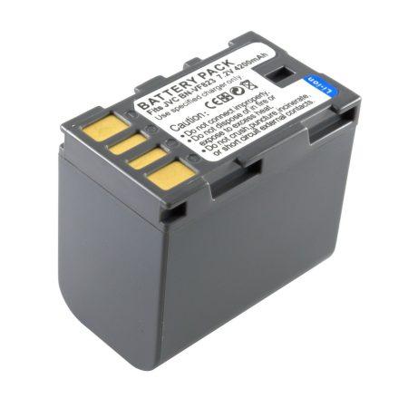 JVC BN-VF823 akkumulátor 4200mAh, utángyártott