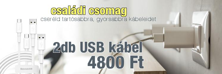 Mágneses usb töltő és adat kábel  android és apple készülékekhez